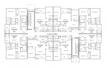 Floor Plans for Chestnut Park Apartments